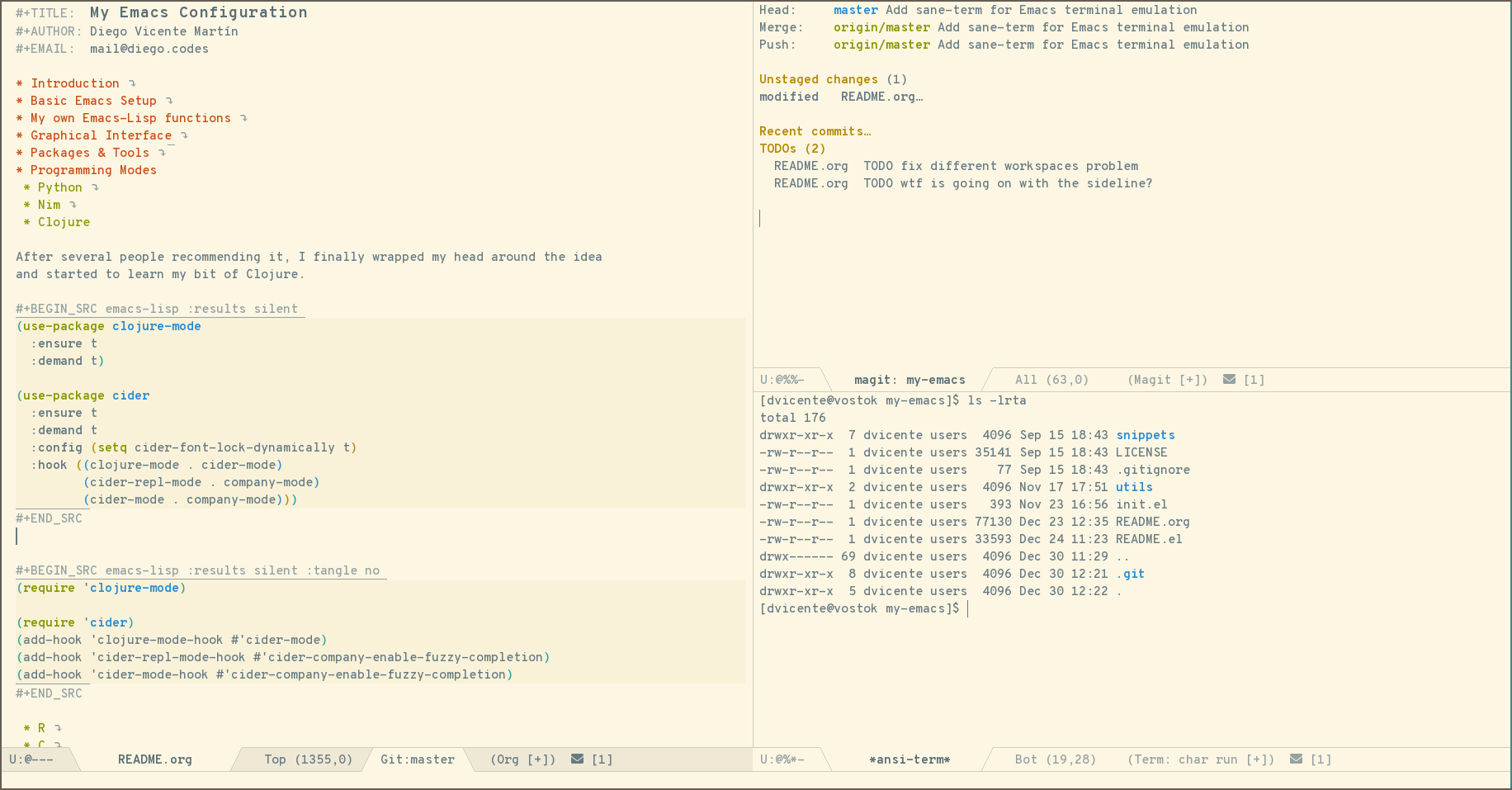 Emacs in 2018: My Year in Review